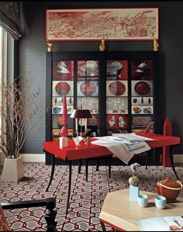 Meaning Of Red Color In Interior Design And Decorating Ideas Studiopurple